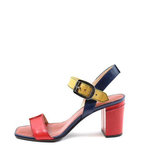 Marc by Marc Jacobs Strappy Color Block Sandals (Size 38)