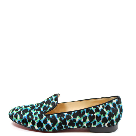 Christian Louboutin 'Sakouette' Calf Hair Sakouette Loafers (Size 41)