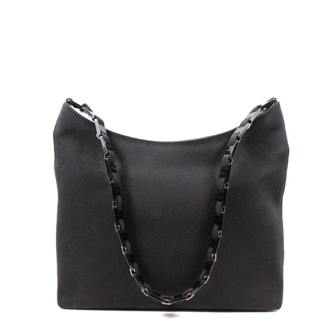 Salvatore Ferragamo Black Nylon Tote