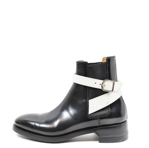 'SOLD' Balenciaga Glazed Calfskin 'Twins' Chelsea Boot (Size 38)