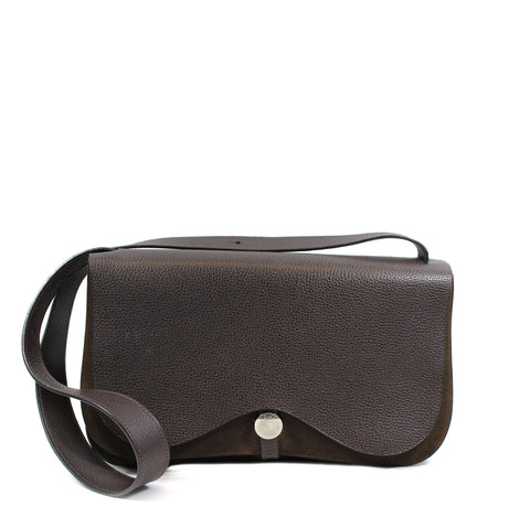 Hermes 'Sac Colorado'Brown Leather Shoulder Bag