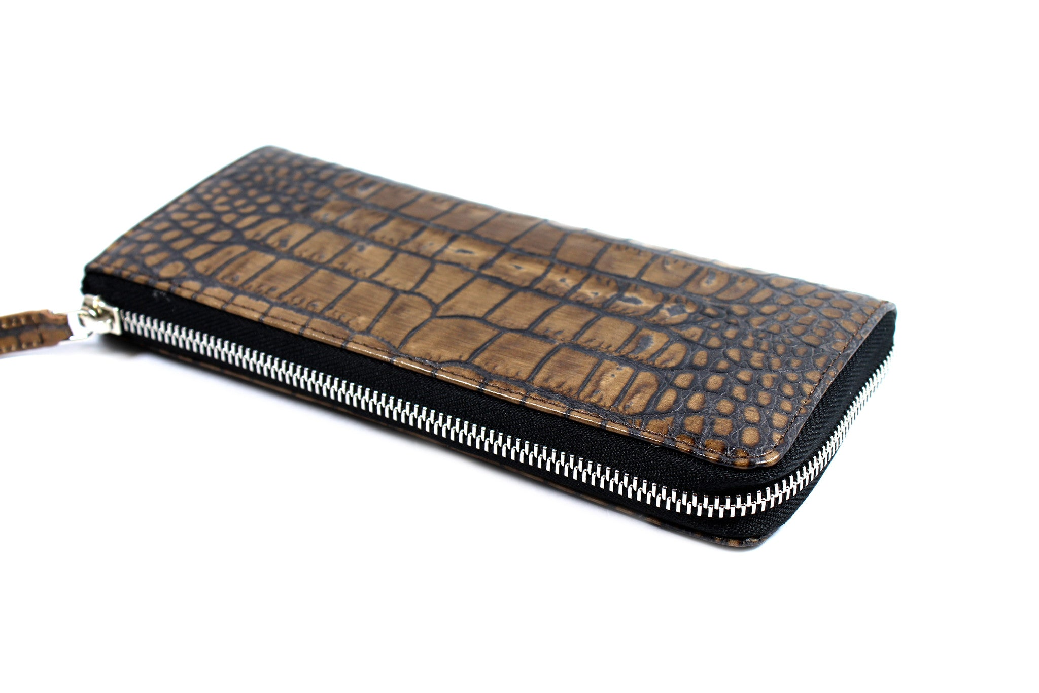 Marni Brown All-around Zipped Leather Wallet - Encore Consignment - 4