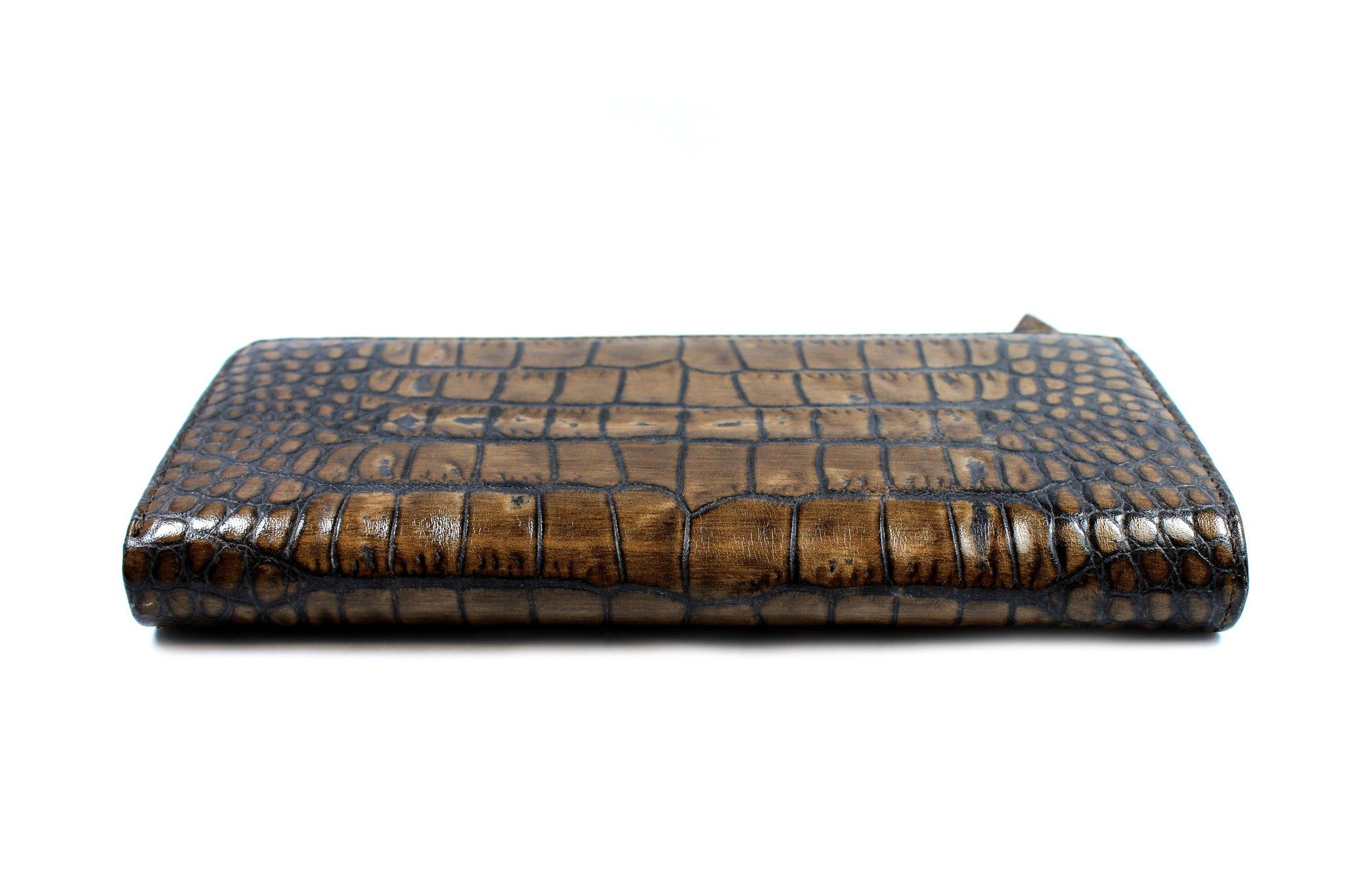 Marni Brown All-around Zipped Leather Wallet - Encore Consignment - 5