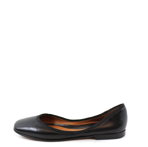 Céline Black Leather Flats (Size 36)