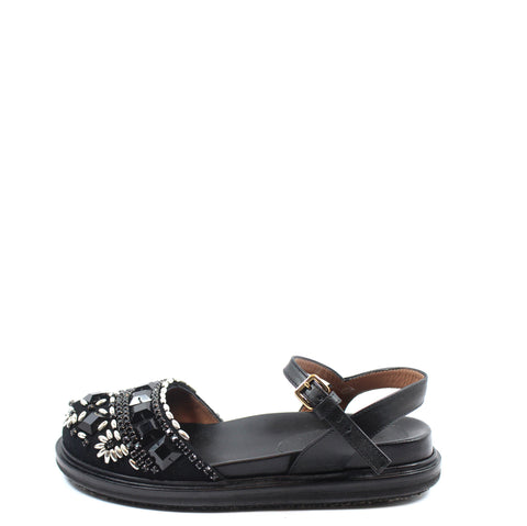 Marni Embellished Flat Sandals (Size 36) - Encore Consignment - 1