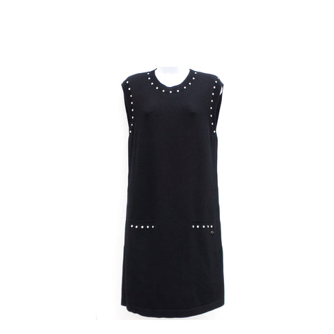 J. MENDEL Black Paneled Chantilly Lace Ecru Organza Dress 8 $5200 NWT