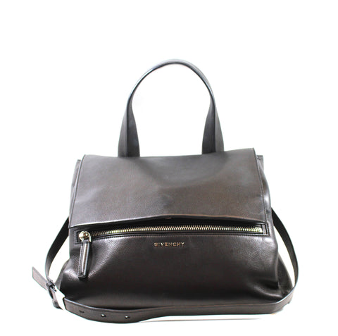 Givenchy Black Calfskin Medium 'Pandora' Bag
