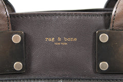 Rag & Bone Bi-color Brown Mini Pilot Bag