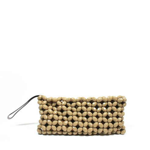 Marni Beaded Clutch - Encore Consignment - 1
