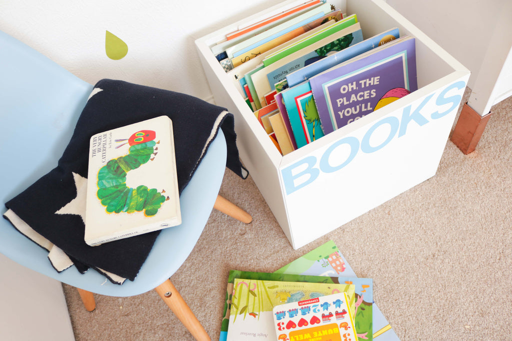 How to Make a DIY Book Bin in Only 5 Minutes