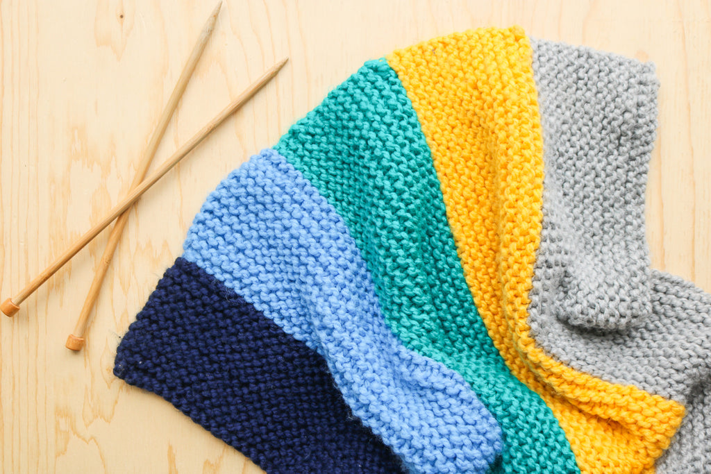 How to Knit a Baby Blanket the Super Easy Way and Relax Your Mind!