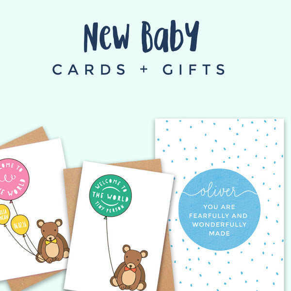 New Baby Cards + Gifts