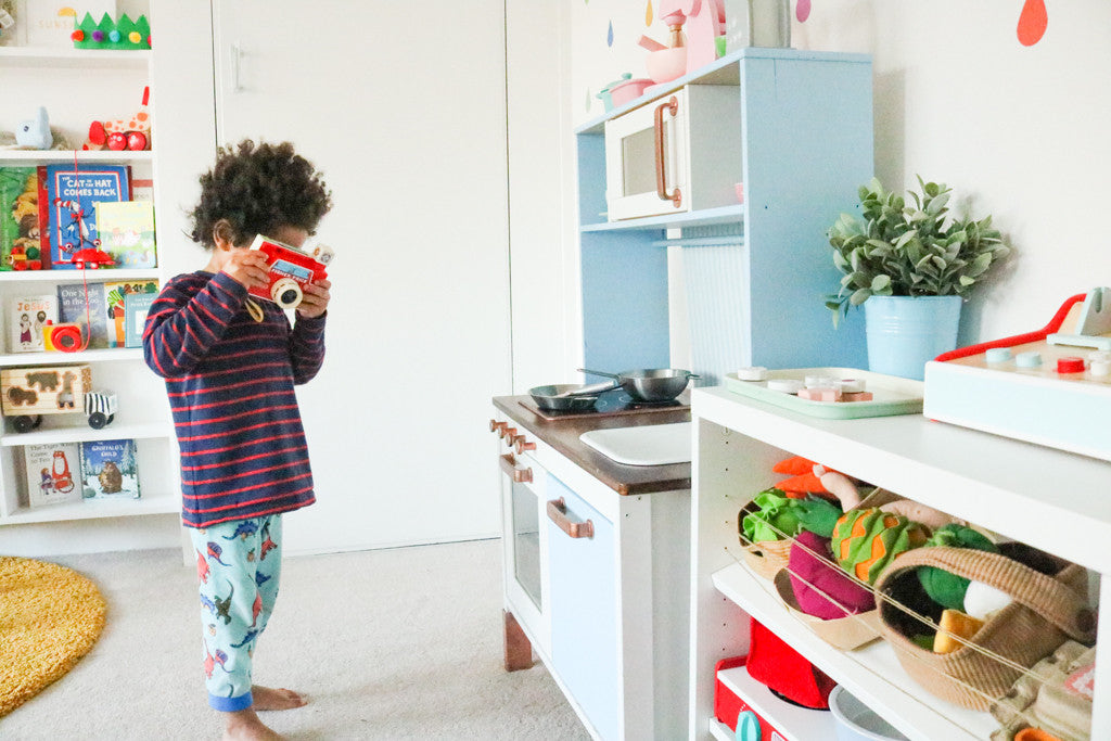 Complete an ikea play kitchen hack without losing your for Play kitchen set ikea
