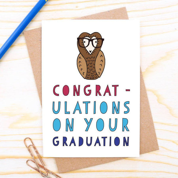 Card - Congratulations On Your Graduation Owl Card