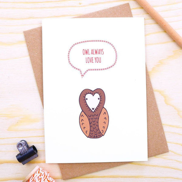Card - 'Owl Always Love You' Card