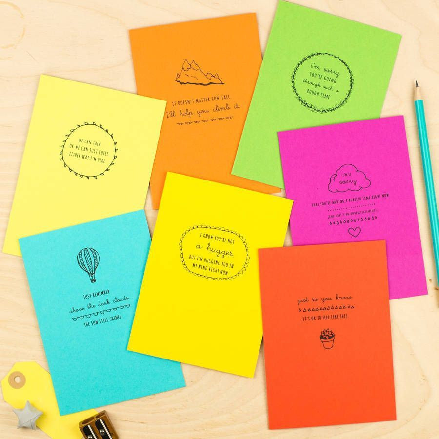 Encouragement Cards Seven Pack