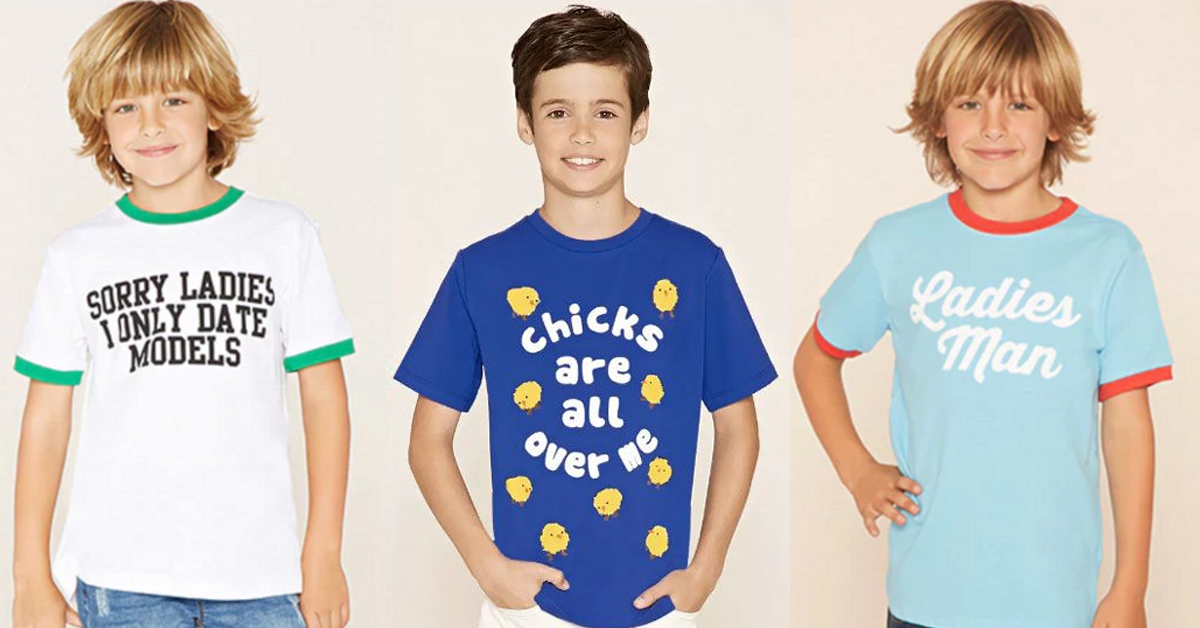 8fbc2f68 Dear boys' graphic tee designers: Nope, nope, nope. - Free to Be Kids