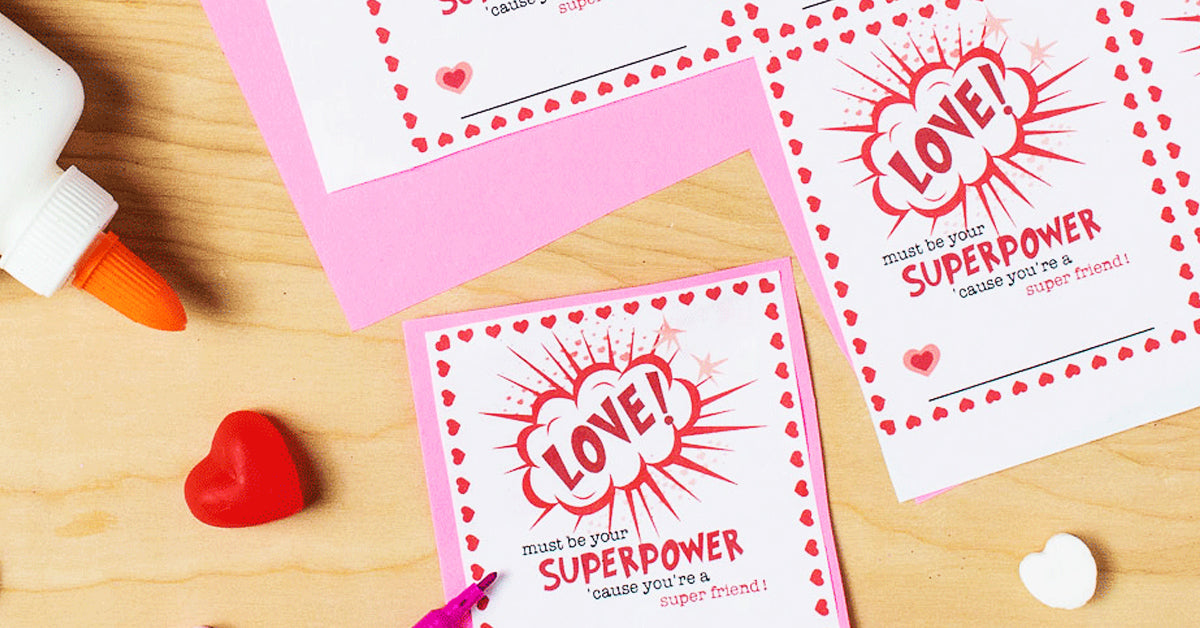 photograph about Free Valentine Printable named Cost-free* Printable Valentines and Bag Toppers - Free of charge in the direction of Be Young children