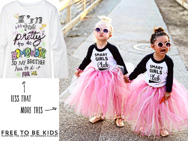 Free To Be Kids - Empowering Clothes For Girls