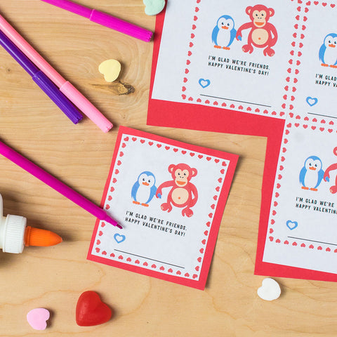Owen & Orla Free Printable Valentines by Free to be kids