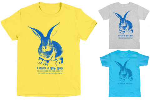 Free To Be Kids - Bunny Shirt for Boys or Girls - Unisex Short Sleeve Tee