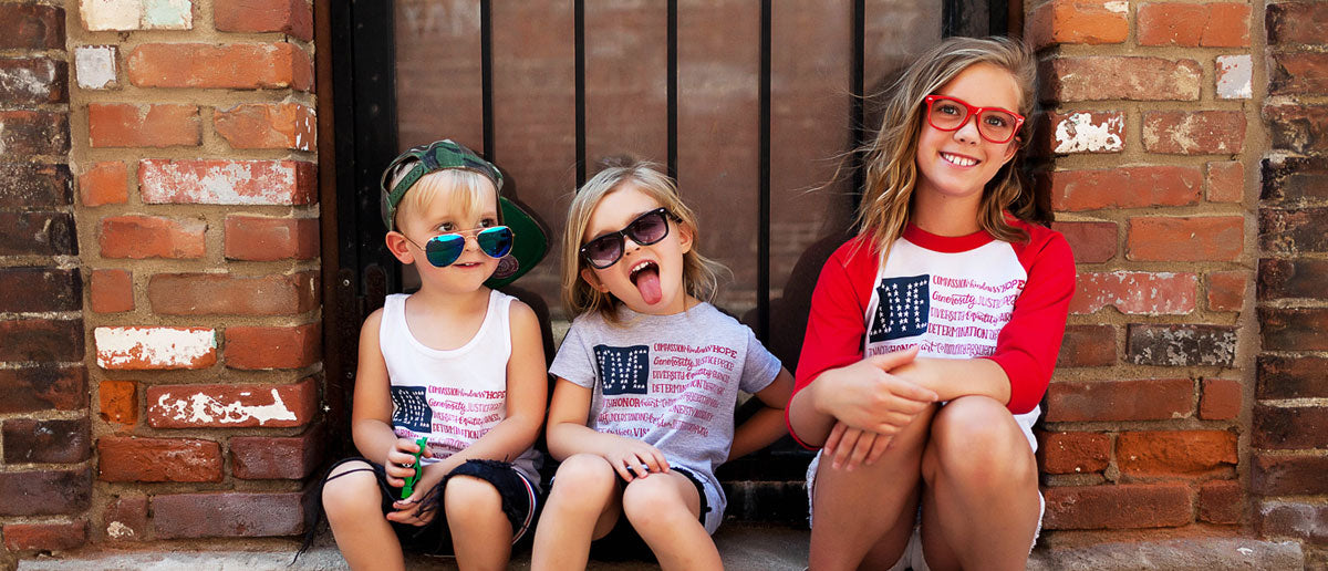 Kids in America The Wonderful t-shirts