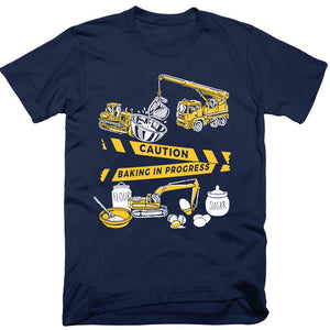 Caution: Baking In Progress Baby / Kids T-Shirt