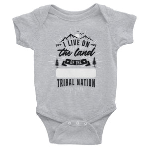 Land Acknowledgment Baby Onesie