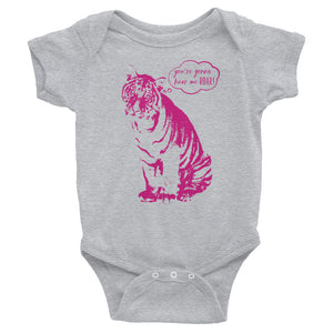 You're Gonna Hear Me Roar Baby Onesie