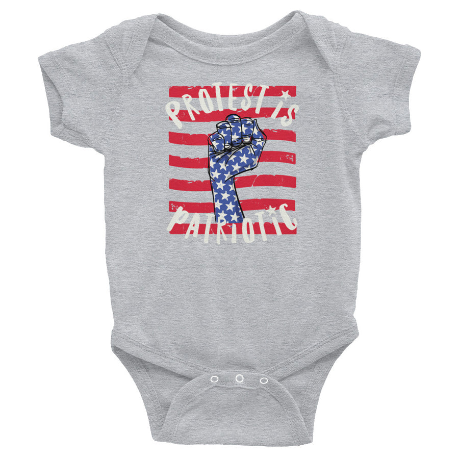 Protest Is Patriotic Baby Onesie