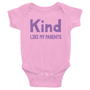 Kind Like My Parents Baby Onesie