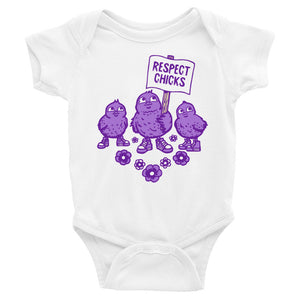 Respect Chicks Baby Onesie