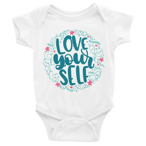 Love Yourself Baby Onesie