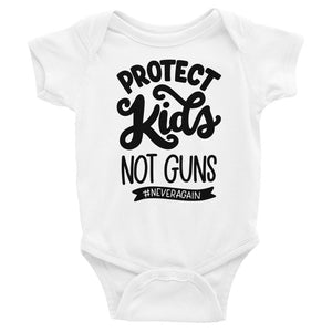 Protect Kids Not Guns Baby Onesie