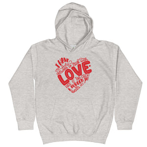 I Have Decided To Stick With Love (Valentines Day Edition) Kids Hoodie