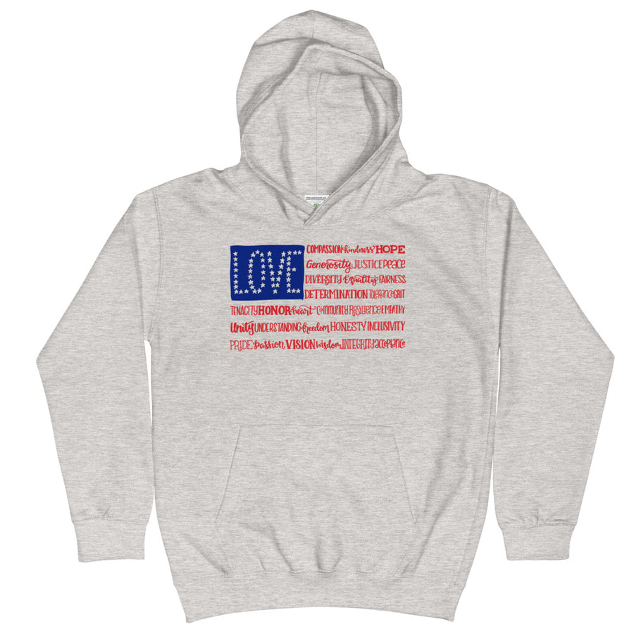 America The Wonderful Kids Hoodie