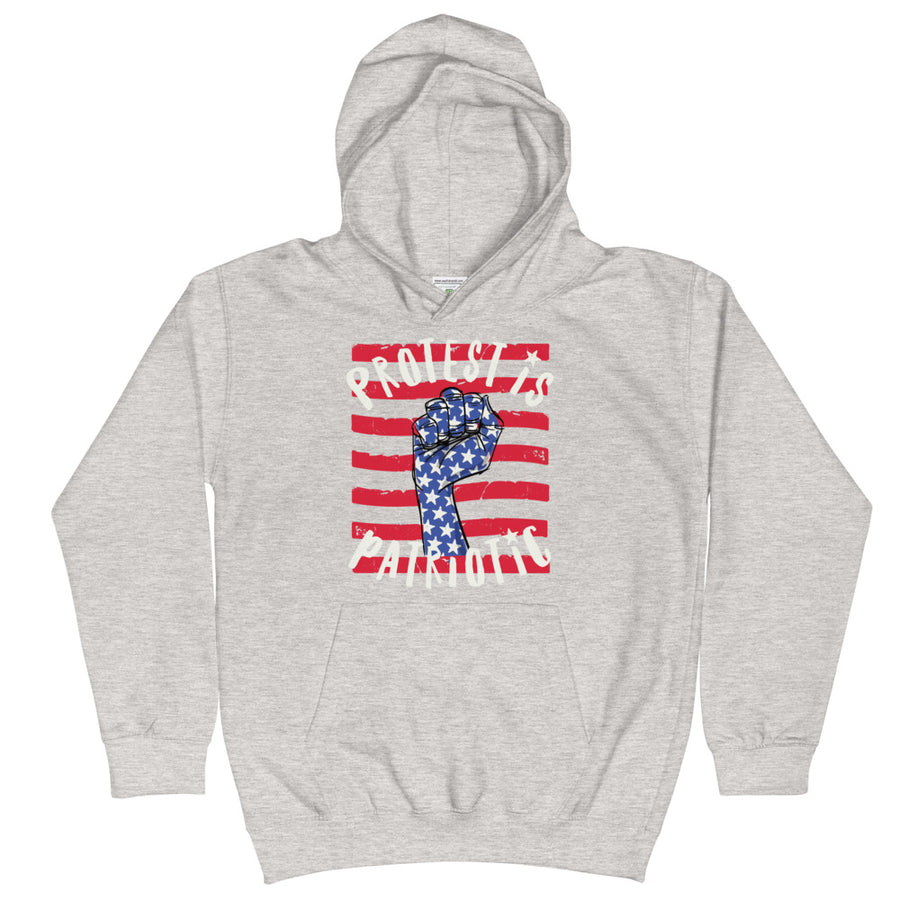 Protest Is Patriotic Kids Hoodie