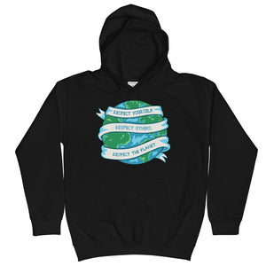 Respect The Planet Kids Hoodie