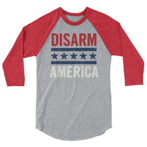 Disarm America Teen/Grownup Baseball Tee