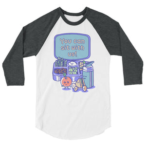 You Can Sit With Us Teen/Grownup Baseball Tee