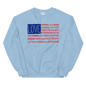 America The Wonderful Teen/Grownup Sweatshirt