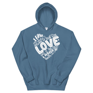 I Have Decided To Stick With Love Teen/Grownup Hoodie