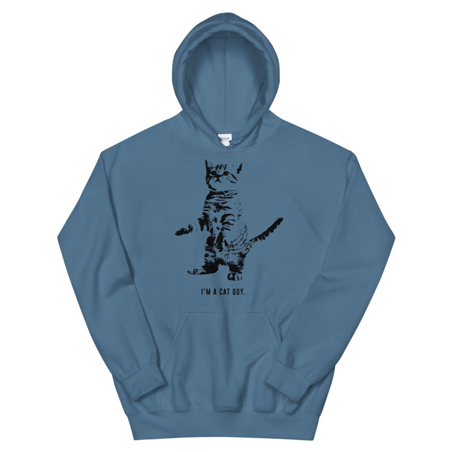 I'm A Cat Guy Teen/Grownup Hoodie