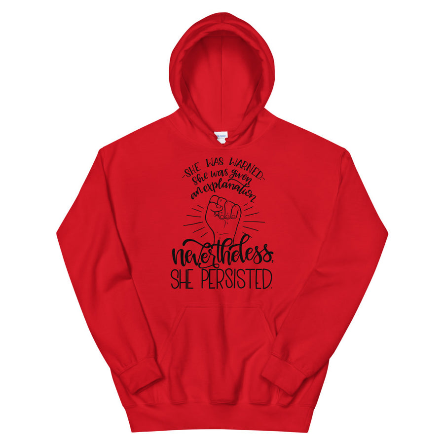 Nevertheless, She Persisted Teen/Grownup Hoodie