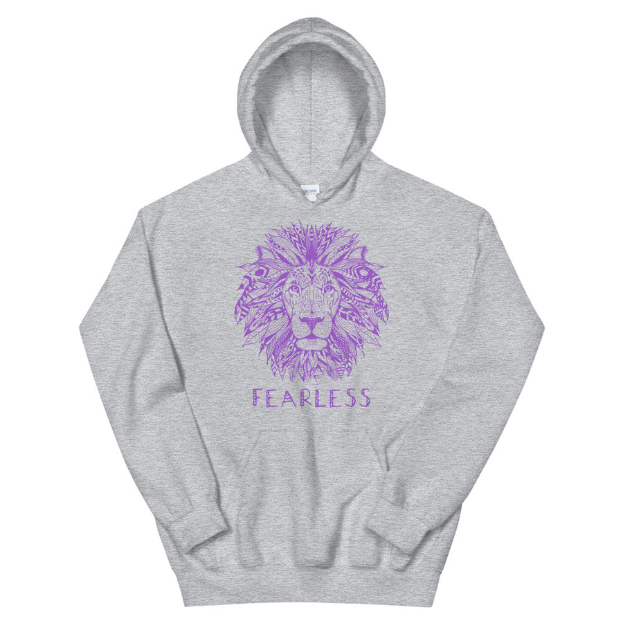 Fearless Lion Teen/Grownup Hoodie