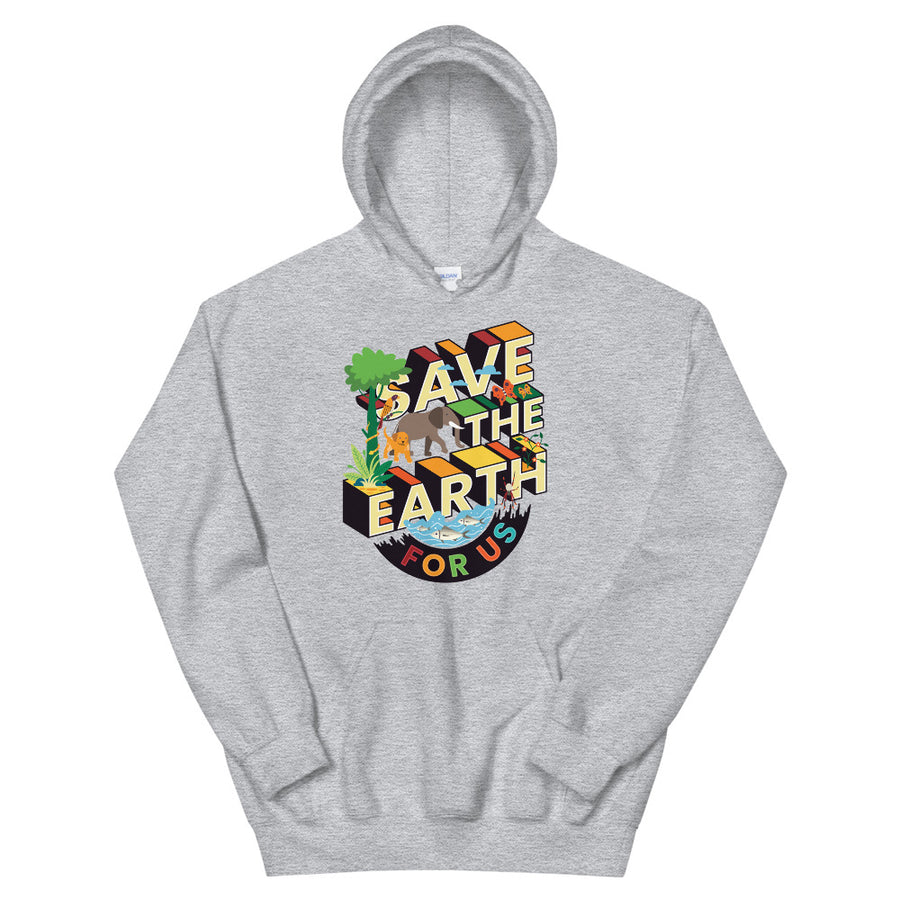 Save The Earth For Us Teen/Grownup Hoodie