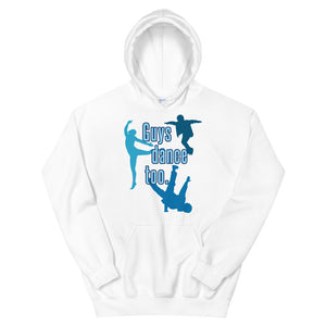 Guys Dance Too Teen/Grownup Hoodie