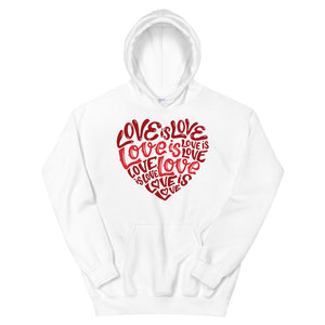 Love Is Love Teen/Grownup Hoodie