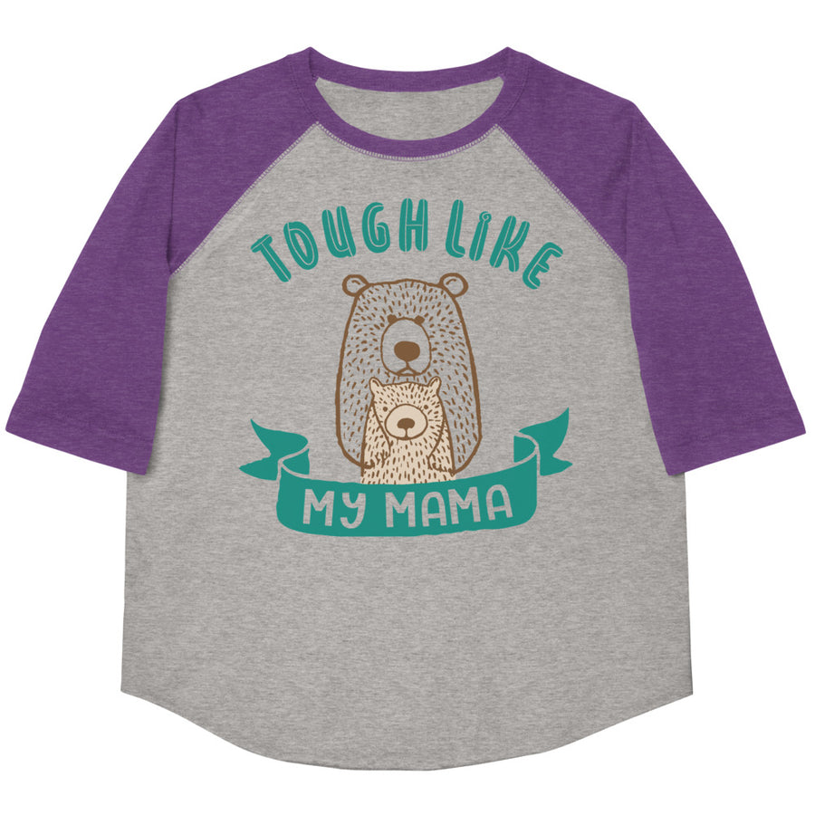 Tough Like My Mama Youth Baseball Tee