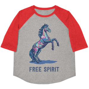 Free Spirit Youth Baseball Tee